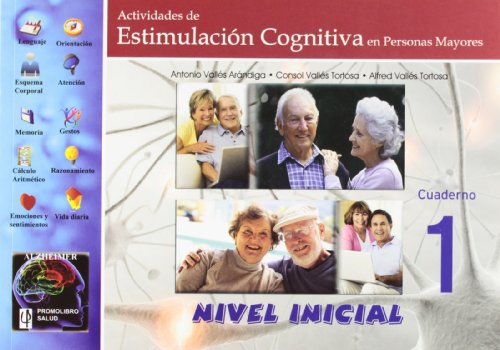 Actividades de estimulación cognitiva en personas mayores : nivel inicial
