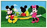 Disney 15419 Mickey Mouse Clubhouse Teppich, Synthetikfaser, mehrfarbig, 80 x 140 x 1,12 cm