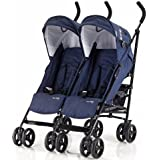 Knorr-baby 832200 Carrito Side by side, Navy Blue