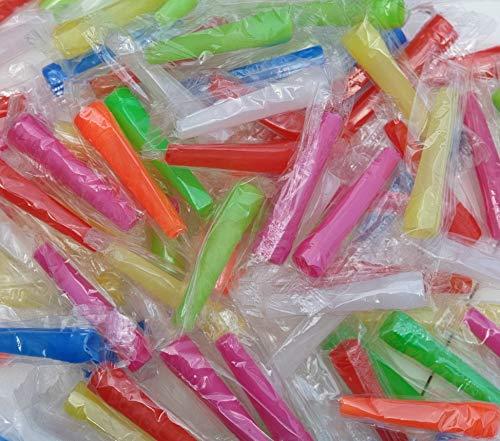 Shisha Hygiene Mundstücke bunt 100 Stück - 5,8cm -