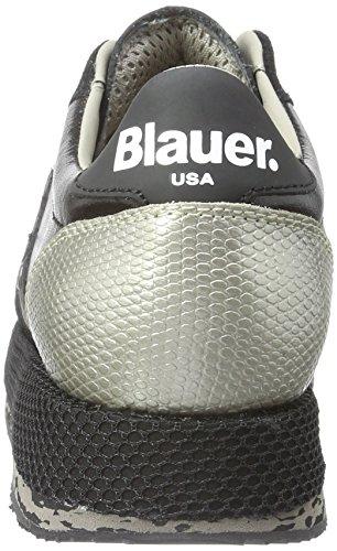 Blauer USA - Wofasrun, Scarpe da ginnastica Donna Nero (Nero (nero))