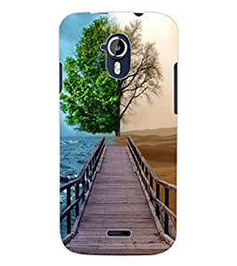 ColourCraft Illusion Design Back Case Cover for MICROMAX CANVAS MAGNUS A117