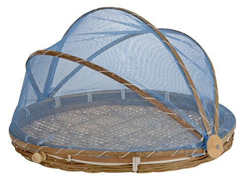 Fliegenhaube, Abdeckhaube (50 cm, blau)