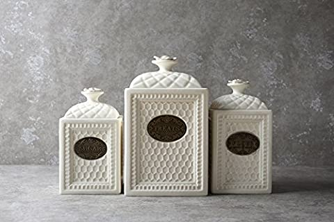 Gifts for Mom Vinatge Retro Design Sets, Sugar Canister Treats