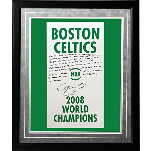 NBA Boston Celtics gerahmt 16 x 20 Paul Pierce Faksimile '2008 Champions Banner' Story Foto