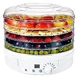 Wäschespinne Lebensmittel Digitale 230–260W Durchmesser 32Reber 5Fächer