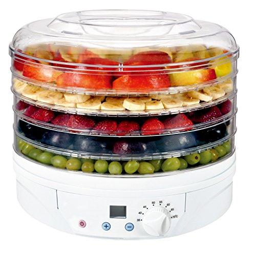 Artus Essicatore digitale per alimenti, 230-260W, 5...