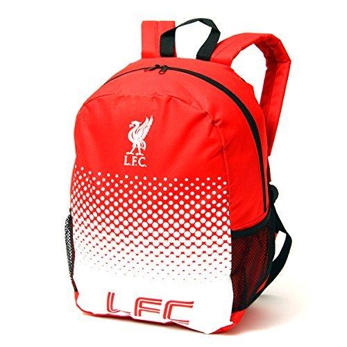 Offizielles Fußball Team Verstellbarer Reißverschluss Tasche Rucksack Rucksack (verschiedene Vereine zur Auswahl.) Liverpool FC