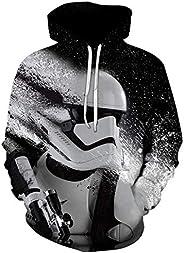 Star Wars Men's Long Sleeve Hoodie 3D Print Casual Loose Comfort To