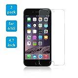 iPhone 6 protector de pantalla, iPhone 6S Compatible, Sunshot® [vidrio templado] 0,3 mm Ballistic vidrio iphone 6 cristal protector de pantalla trabajo con iphone 6 y carcasa [garantía de por vida]