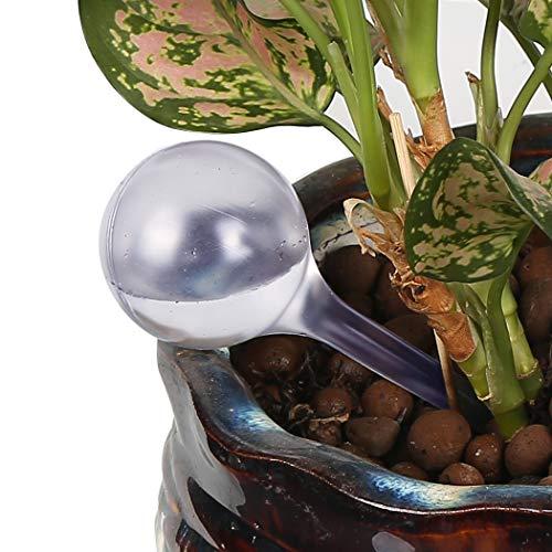 Vegkey Bewässerungskugeln,4er Set automatische Bewässerung für Pflanzen Dosierte Bewässerung Automatische Reise-Tropf für Blume Garten Bonsai Zimmerpflanzen Blume Garten Bonsai