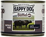 Happy Dog Fleisch Dosen Büffel Pur, 200 g, 12er Pack (12 x 200 g)