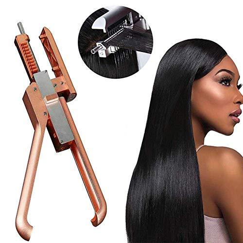 YWJH Haar Erweiterungen Maschine, Haar Verbinder Perücke/Haar Friseur Verbinder Zum Schneller Echt Haar Erweiterung Behandlungen, Hair Extension Tools -