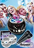 Mr Entertainer CDG Boombox Karaoke Machine with Bluetooth & Flashing Lights