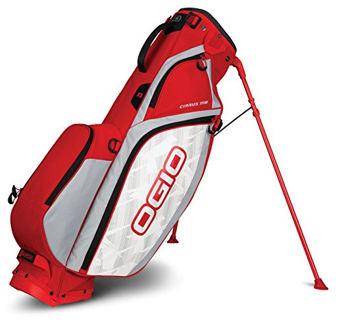 OGIO 2018 Cirrus MB Stand Bag, Cirrus Stand MB Bag, Rush Red
