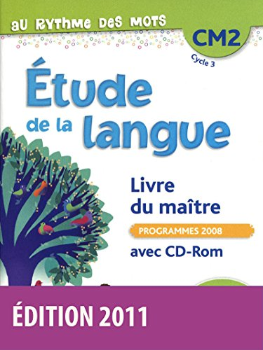 Au rythme des mots CM2 • Livre du maître avec CD-Rom PDF Books