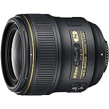 Nikon 35 mm f/1,4G Lente de Longitud Focal Fija para cámaras Nikon DSLR (reacondicionado Certificado)
