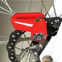 Serrure Anti-vol de Sécurité de Bicyclette de Moto de Sécurité de Sécurité, Serrure de Sécurité de Roue de Disque de Frein de goupille de 6mm