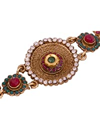 Vama Fashions Bridal Baju Band Vanki Armlet Jewellery for Women.
