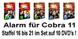 Staffel 16-21 (10 DVDs)