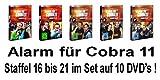 Alarm für Cobra 11 - Staffel 16 - 21 im Set - Deutsche Originalware [10 DVDs] - Gedeon Burkhard, Johannes Brandrup, Charlotte Schwab Erdogan Atalay