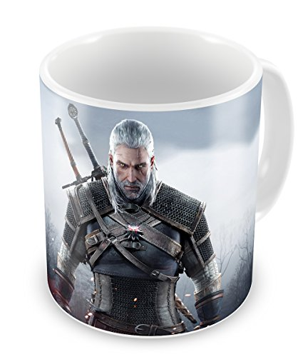 The Witcher III Geralt - taza de cerámica Witcher 3 Mug Type B
