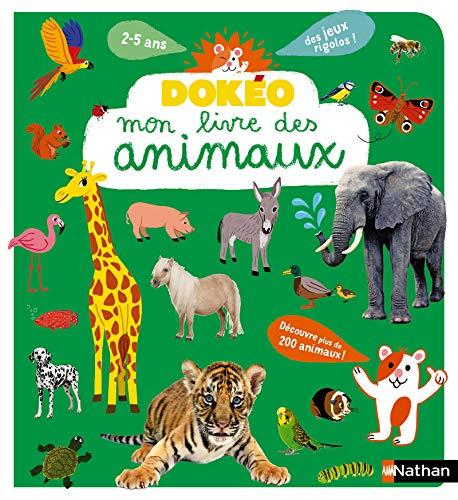 Mon livre des animaux - Dokéo -2 à 5 ans par Cécile Jugla