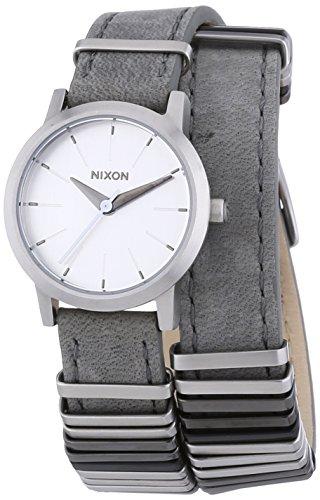 nixon-a4031763-00-montre-femme-quartz-analogique-bracelet-cuir-gris