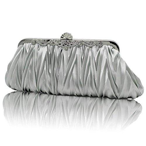 SUMAJU, Poschette giorno donna argento Silver Silver