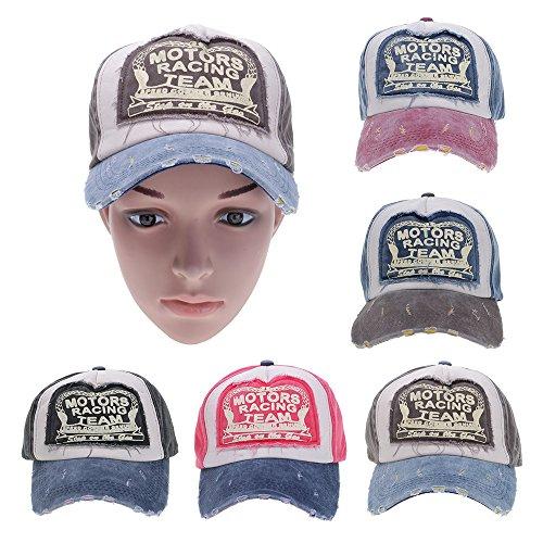 GGG New Fashion Unisex Vintage Grinding Multicolor Cotton Baseball Cap Adjustable Snapback Cap Trucker Hat Hiphop Hats