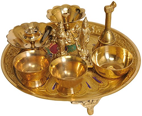 lakshmi-narayana-puja-thali-brass