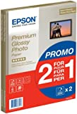 Epson Premium Glossy Photo Paper A4 2-for-1