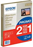 Epson Premium Glossy Photo Paper A4 2-for-1 C13S042169 - Pack of 30 + 30 Free