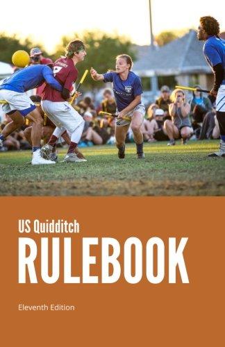 US Quidditch Rulebook, Eleventh Edition (Holden Leder)