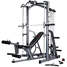 Marcy MWB1282 Platinum Smith Machine Home Gym with Weight Bench