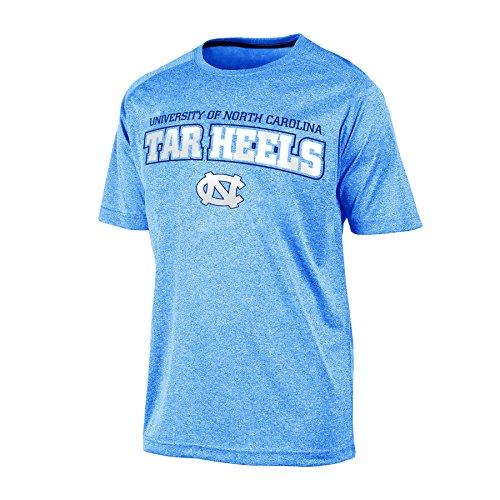 Champion Herren NCAA Impact Heather Jersey T-Shirt, Herren, NCAA Men's Impact Heather Jersey T-Shirt, Blue Heather, XL -