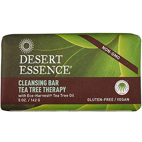 Cleansing Bar Tea Tree Therapy, 5 oz (142 g) - Desert Essence