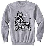 Photo de Teesquare1st Men's COUNT BASIE Grey Sweatshirt par TEESQUARE1st