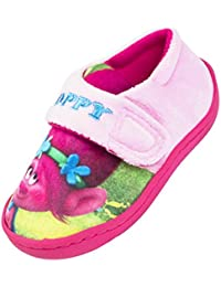 Trolls Chicas Poppy Pink Zapatilla Soft Close