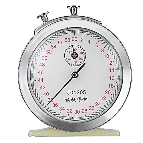 EsportsMJJ Mechanische Aufziehbare Stoppuhr Clock 60S 0.2 S 60Min Spiel Timing Physik Experiment Timer