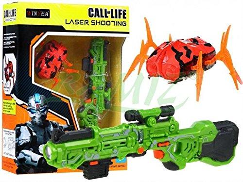 Laser Tag Set Call Of Life WINYEA Laserpistolen Nanorobot - Grün