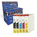 5 XXL Tintenpatronen Komp. für Epson T29XL 29 XL 29XL für Epson Expression Home XP-342 XP-345 XP-245 XP-442 XP-332 XP-235 XP-432 XP-445 XP-435 XP-335 XP-247 Drucker Patronen