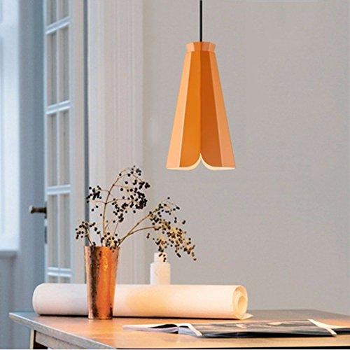 Die einfache Beleuchtung Moderne Pendelleuchte Kronleuchter Esstisch Lounge Studie Innenbeleuchtung, White Light-c (Esstisch Set Holz Sockel)