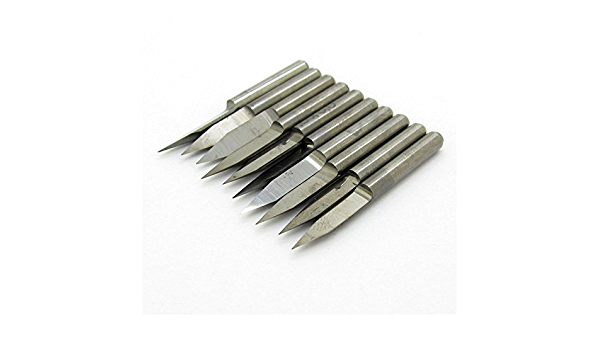 Carbide Engraving Bits Set PCB Board Engraving Cutters 25 Degree 0.1mm