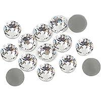 500Diamantes de imitación 4 mm transparentes y adhesivos