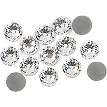 1000Crystal brillantes piedras 3mm en trasnparent adhesivos.No hoffix