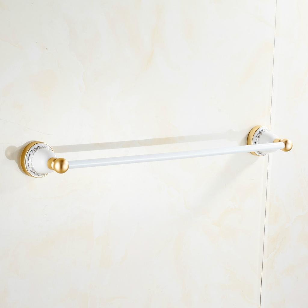 alluminio dello spazio portasciugamani unipolare Tiranno oro bagno antichi scaffali accessori bagno