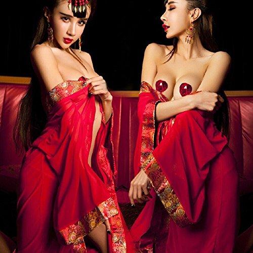 DIDIDD Sexy Unterwäsche Sexy Kimono Roben Versuchung Uniform Versuchung Anzug,Foto Farbe,Alle Code