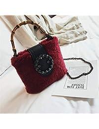 085737ae4 SAOGA Tide versión Coreana de los Sacos de Mano de Moda Peludo Bolsa de Mano  Diagonal
