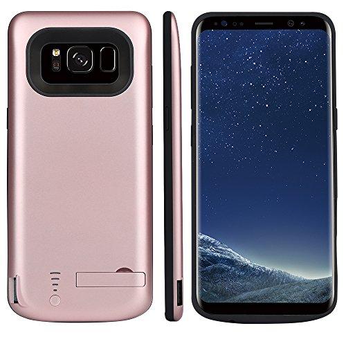 CASEWRS Ricaricabile Custodia Batteria Cover Batteria Protettiva Backup Charger Case Ultra Sottile e Leggera per Samsung Galaxy S8 Plus